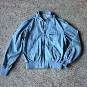 Retro vintage members only bomber jacket